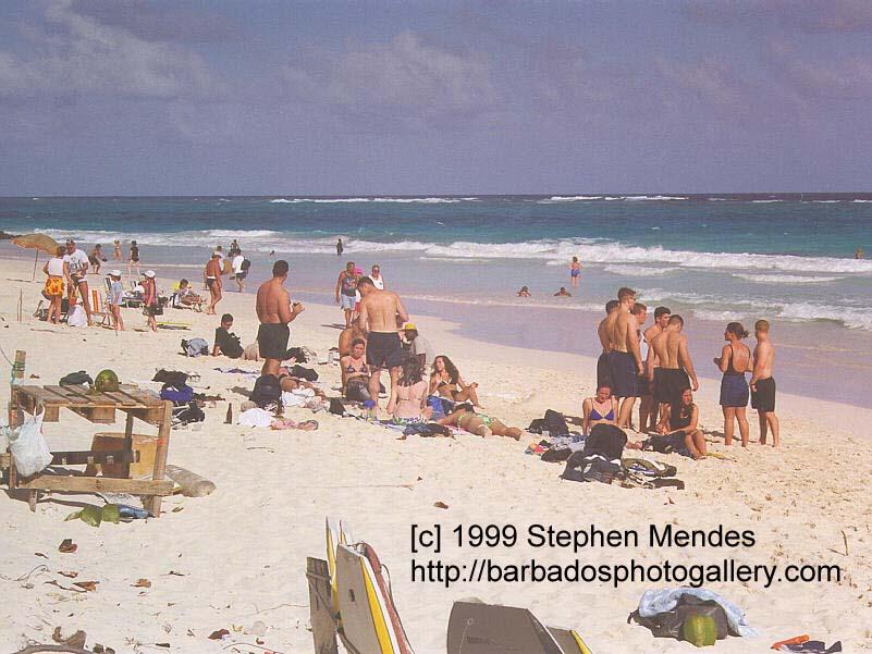 Shark Hole Barbados Crane Beach Shark's Hole